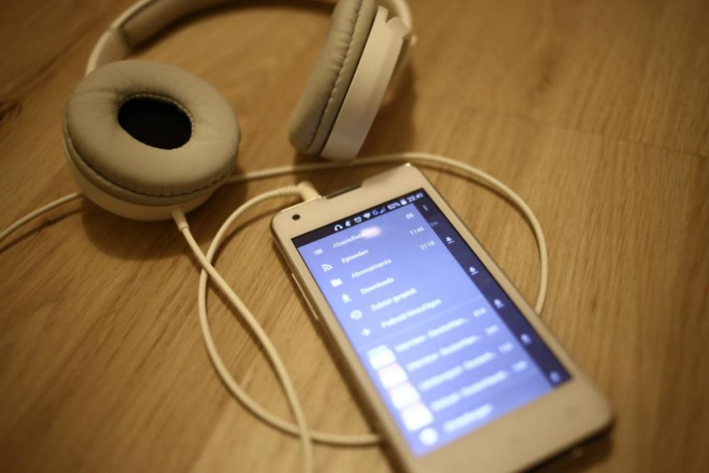 Fotografie Podcasts auf dem Smartphone